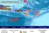 Gempa goyang tiga kabupaten NTT