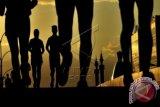 Polres Majene sambut Charity Run