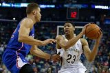 Bola Basket - Davis cetak 59 poin dalam kemenangan Pelicans