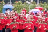 Meski hujan deras ultah Aspek Indonesia meriah