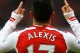 10 pemain Arsenal tahan imbang Tottenham 2-2