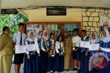 SMPN 1 Muara Teweh Juara II PMR Kalteng