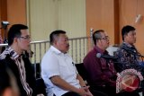 Sidang empat pimpinan DPRD Musi Banyuasin masuki tahapan vonis