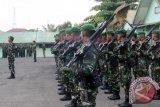 Prajurit TNI Korem Gapo latihan antisipasi bencana alam di Sumsel