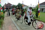 Ribuan penggemar sepeda meriahkan