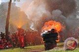 Dinas Pemadam Palembang periksa  peralatan kebakaran gedung bertingkat