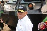 Menhan Ryamizard disambut 21 dentuman meriam di Pentagon