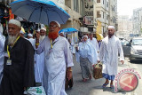 Cuaca Kota Mekkah mulai ekstrim, jemaah calon haji Indonesia diimbau gunakan pelidung