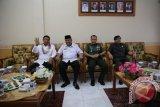 Tinjau Gerbangdutas di Perbatasan, Menkopolhukam Tiba di Kaltara--Wiranto: Wujud menyejahterakan masyarakat