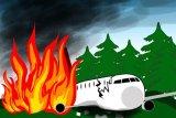 Pesawat jatuh di Kongo, 24 orang tewas