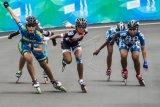 Atlet sepatu roda peserta  Kejurnas Pariaman Openmulai berdatangan