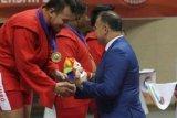 Atlit Sambo Indonesia Raih Medali Emas Dalam Ajang WMAM Di Korsel