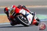Pembalap Dimas Ekky alami kecelakaan di FP1 GP Belanda