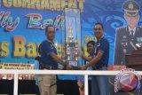 32 Regu Ikuti Turnament Volly Ball Kapolres Barsel Cup