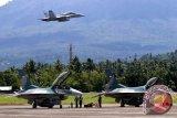 TNI AU terbangkan Empat F-16 patroli di wilayah Natuna