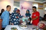 Kerajinan Kartini Blue Bird dipamerkan Makassar Expo