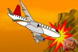 Pesawat ringan bertabrakkan di udara