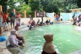 Pemandian Air Panas Krakal Ramai Pengunjung