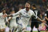 Sergio Ramos dijatuhi sanksi berupa skorsing dua pertandingan Eropa