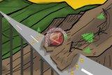 Dua alat berat dikerahkan atasi longsor yang memutus jalan lintas Sumatera Padang-Jambi