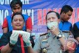 Wow! BNN Kalteng Musnahkan Sabu Hasil Tangkapan Jaringan Asal Aceh