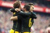 Atletico Madrid Ditahan Imbang Athletic Bilbao 2-2