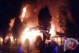 Gedung Kejari Ruteng Hangus Terbakar