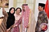 Raja Salman bertemu Megawati dan Puan Maharani