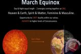 Jangan Berlebihan Sikapi Fenomena Equinox