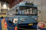 Ada pameran pameran bus klasik dan unik di  Kemayoran