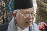 Ma'ruf Amin fokus haji, enggan berkomentar hingga selesai ibadah haji