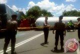 Mobil tangki elpiji tabrakan di jalan Yogyakarta-Purworejo