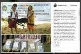 Siswa SD di Wilayah Perbatasan Terima Bantuan dari Presiden Jokowi