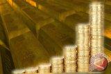 Emas berjangka terus naik dipicu pelemahan dolar dan penurunan ekuitas