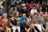 Alunan Angklung Hipnotis Ribuan Penonton Di Istana Presiden Meksiko