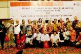 Zulaikha Wardan Hadiri Penutupan Seminar Dan Rakernis UTD PMI