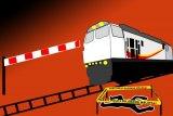 Seorang perempuan tewas hingga terseret puluhan meter usai menabrakan diri di perlintasan kereta