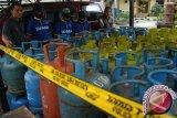 Polres Tanjungbalai  amankan ratusan tabung elpiji oplosan