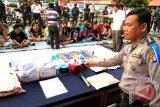 Polda Kalteng Berhasil Ciduk 66 Pejudi Dadu Gurak