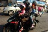 46.290 kendaraan roda dua melintas pantura Cirebon