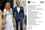 Foto Pernikahan Ario Bayu-Valentine Diunggah Sejumlah artis di Instagram