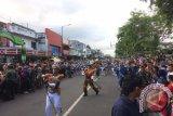 Capaja AAU kirab pamit warga Yogyakarta