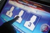 Dua Pemkab Tinjau Pelaksanaan Voting Elektonik Di Agam