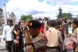 Ribuan Peserta KBN Kunjungi Petilasan Pahlawan Nasional