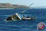 Kapal Wisatawan Karam di Pulau Padar