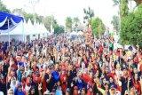 Ribuan Peserta Ikuti Senam Peringati Hari Hepatitis