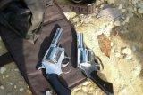 Cegah Aksi Curas, Polres Inhu Lumpuhkan Pemilik 2 Senpi Revolver Rakitan
