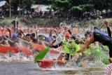 Festival Pacu Jalur Kuansing Resmi Dibuka Bupati Mursini
