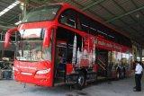 Peminat Bus Tingkat Wisata Semarang Membeludak