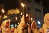 Pawai Obor Di Bengkalis Berlangsung Meriah